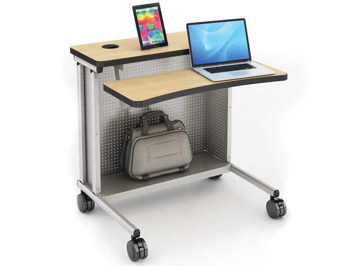 Rectangle Freedome Laptop Cart