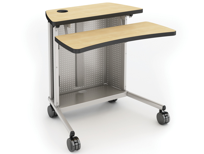 Large Tapered Freedom Laptop Cart