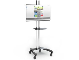mobile tv cart